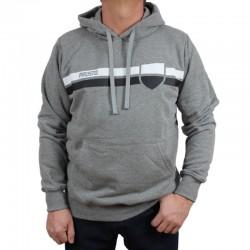 PROSTO bluza STRISH Hoodie grey