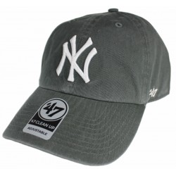47 Brand czapka NY New York Clean charcoal B-RGW17GWS-CCA