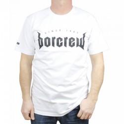 BOR koszulka METAL biały