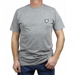 PROSTO koszulka JAQUARD grey