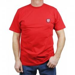 PROSTO koszulka JAQUARD red