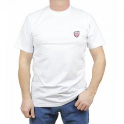 PROSTO koszulka JAQUARD white