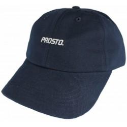 PROSTO czapka LOGO 6panel fatcap navy