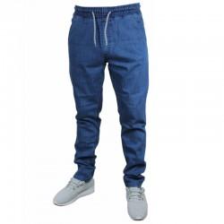 SSG spodnie STRETCH SKINNY jeans guma light
