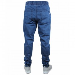 SSG spodnie STRETCH SKINNY jeans guma light