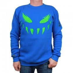 BOR bluza ATYPOWY SZPAKU Face klasyk niebieski