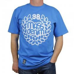 MASS koszulka BASE niebieski 2019