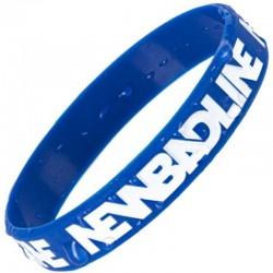 NEW BAD LINE opaska 3X CLASSIC blue