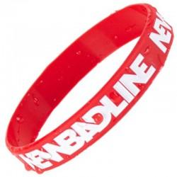 NEW BAD LINE opaska 3X CLASSIC red