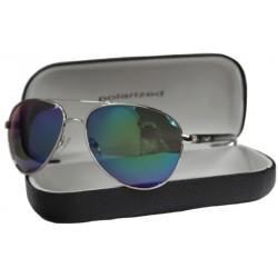 PolarZONE okulary Polaryzacyjne aviator 80-11
