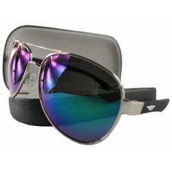 PolarZONE okulary Polaryzacyjne aviator 84-11