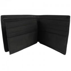 STOPROCENT portfel PFL CLASSIC LEATHER czarny