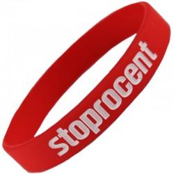 STOPROCENT opaska STOPRO BRAND red