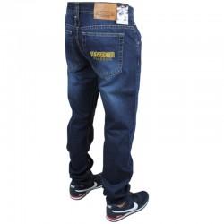 MASS spodnie CLASSICS jeans dark blue 2019