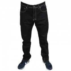 MASS spodnie BASE jeans regular black rinse 2019