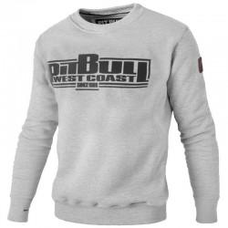 PIT BULL bluza BOXING klasyk grey