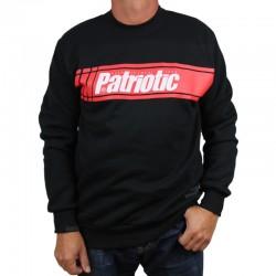 PATRIOTIC bluza CROSS klasyk czarny