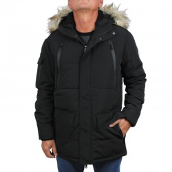 PROSTO kurtka LONG JACKET Parka black