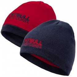 PIT BULL czapka CRAIGIE Beanie dwustronna navy/red