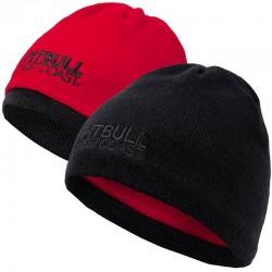 PIT BULL czapka CRAIGIE Beanie dwustronna black/red