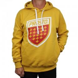 PROSTO bluza SHIELD XX Hoodie yellow