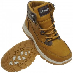 SMITHS buty zimowe TREK trapery Smith's yellow