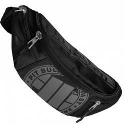 PIT BULL nerka WAIST BAG LOGO black/grey