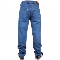 PROSTO spodnie FLAVOUR VI jeans baggy blue 2019