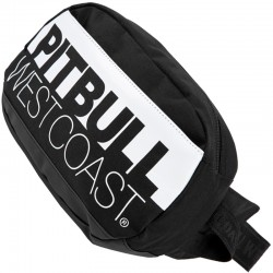 PIT BULL nerka WAIST BAG TNT II black / white