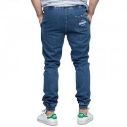 DIAMANTE jogger CLASSIC jeans jasny
