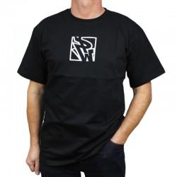 POLSKA WERSJA koszulka MINI PW DO KWADRATU czarny