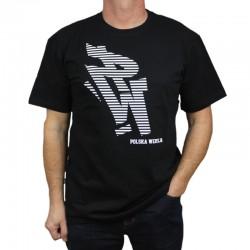 POLSKA WERSJA koszulka PW STRIPES czarny
