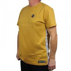 PATRIOTIC koszulka F-CIRCLE TAPE musztardowy