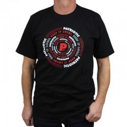 PATRIOTIC koszulka FUTURA AROUND czarny