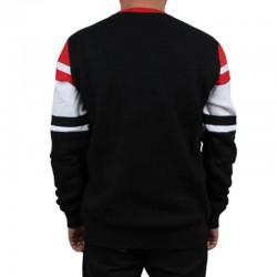 PROSTO bluza EXPOSE klasyk black / red