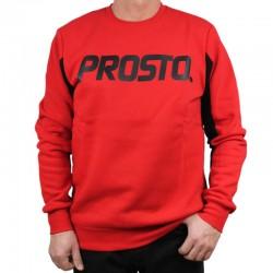 PROSTO bluza CLASSICO klasyk red