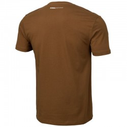 PIT BULL koszulka SMALL LOGO brown