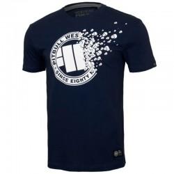 PIT BULL koszulka SKULLER navy