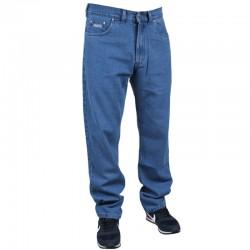 PROSTO spodnie FLAVOUR baggy JEANS blue 2020