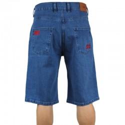 PROSTO szorty DIAG spodenki jeans blue