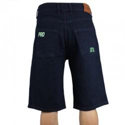 PROSTO szorty DIAG spodenki jeans dark
