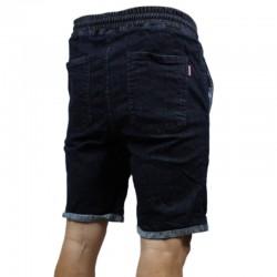 PATRIOTIC szorty FUTURA Jeans dark