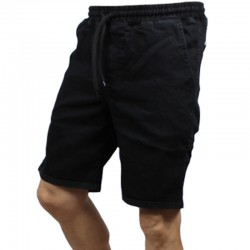PATRIOTIC szorty FUTURA Jeans black