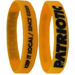 PATRIOTIC opaska FUTURA yellow