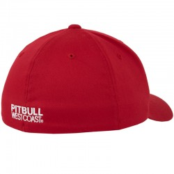 PIT BULL czapka FULL CAP LOGO red