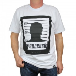 CHADA koszulka MUGSHOT PROCEDER biały