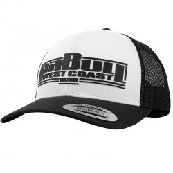 PIT BULL czapka CLASSIC BOXING snap Trucker bl black / white