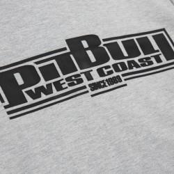 PIT BULL bluza FRENCH TERRY BOXING damska hoodie grey