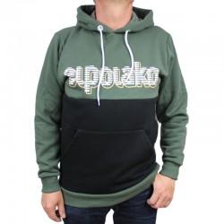 EL POLAKO bluza CLASSIC STRIPES CUT kaptur khaki