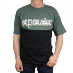 EL POLAKO koszulka CLASSIC STRIPES khaki